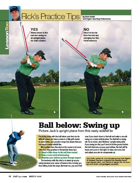 Rick Smith golf swing tips