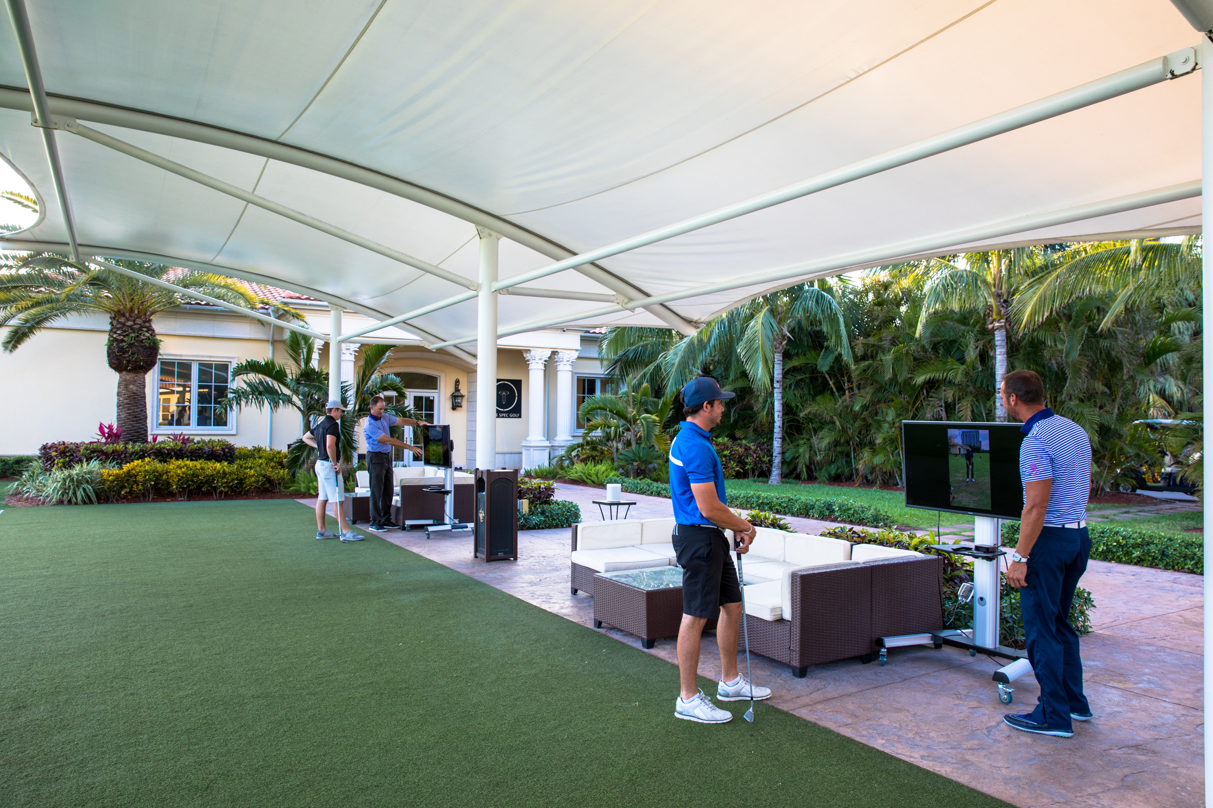 canopy at golf school