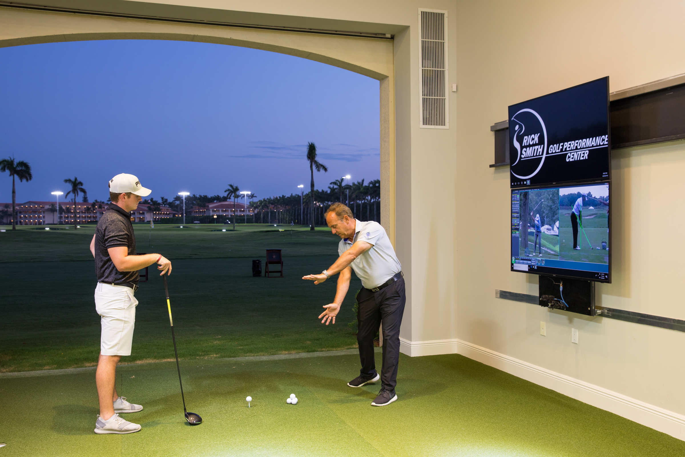 school of golf with Rick Smith